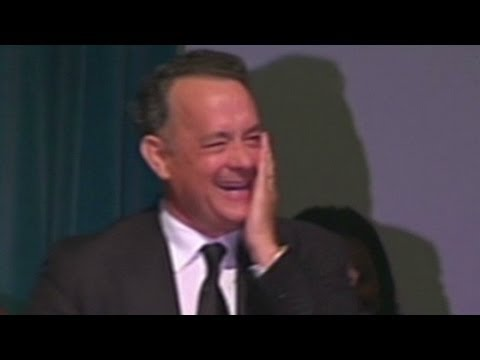 Tom Hanks At Michael Clark Duncan's Memorial Service