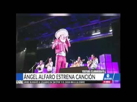 Poemas para enamorar - Ángel Alfaro El Angel de la Musica Ranchera en Cablenoticias TV Nacional 3 de septiembre de 2019