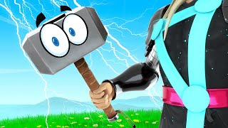 I HID As THOR'S HAMMER And WON! (Fortnite Prop Hunt)