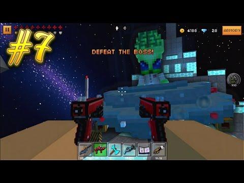 ALIEN INVASION?! | Pixel Gun 3D Campaign #7 (видео)