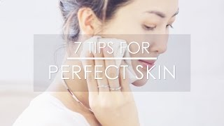 My 7 Skin Care Secrets + Giveaway