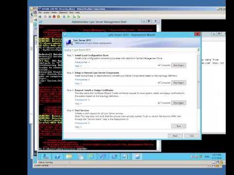 how to recover lync server