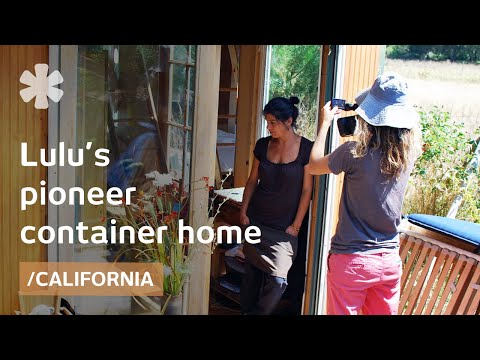 California DIY Home Out Of Shipping Container