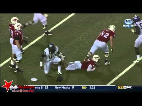 Devonte Fields vs Southern Methodist (SMU) 2012 video.