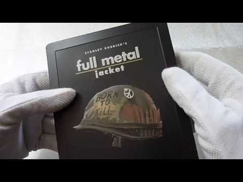 Unboxing: Full Metal Jacket - Zavvi Exclusive Limited Edition Steelbook Blu-ray