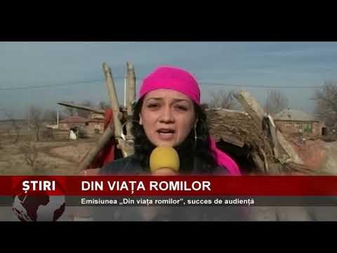 """Emisiunea """"Din viața romilor"""", succes de audiență"""