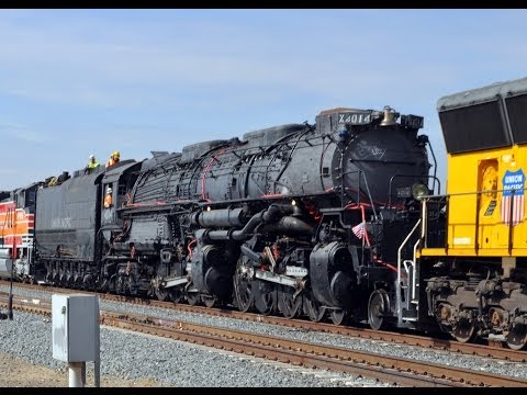 Train - In July of 2013, the Union Pacific Railroad reacquired Big Boy steam locomotive number 4014 from the Rail Giants Train Museum at the Pomona Fairplex with the...