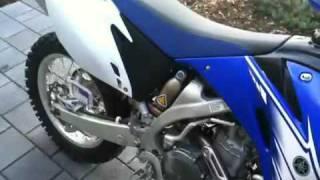 9. My 2007 Yamaha WR450f (walk around)