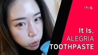 video thumbnail Alegria toothpaste youtube