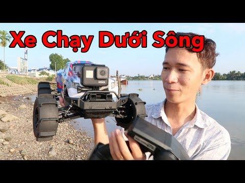 Thanh Niên Chơi Xe Điều Khiển Từ Xa Chạy Dưới Sông và Cái Kết - Lâm Vlog - Thời lượng: 10 phút.