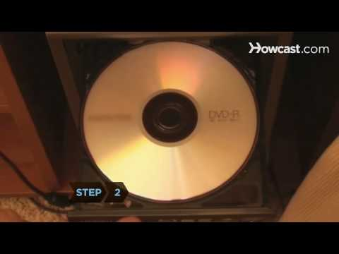 How to Burn a DVD with Roxio