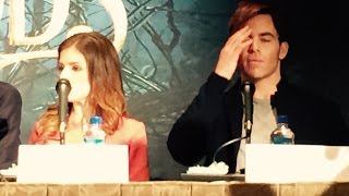 Chris Pine refuses to answer if he would pick up Anna Kendrick on Tinder