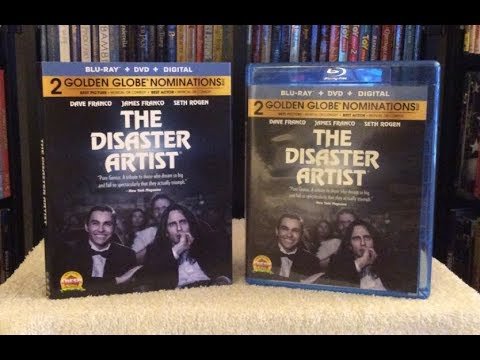 The Disaster Artist BLU RAY REVIEW + Unboxing