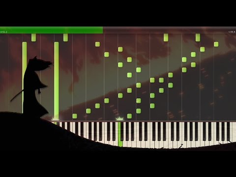 [Samurai Jack] Tomb Scene EPIC Soundtrack For Piano (The Ecstasy Of Gold) [Synthesia Tutorial]