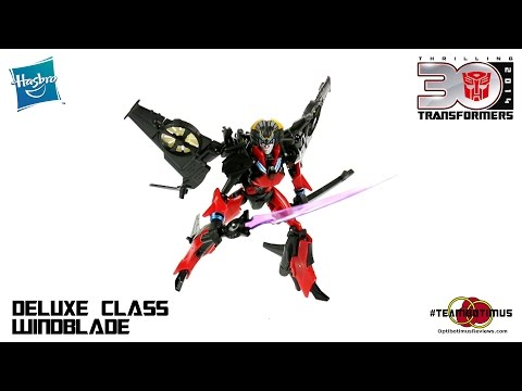 video review - Video Review of the Transformers Generations: Deluxe Class Windblade GET YOURS AT BBTS!!! http://bit.ly/BBTS_Windblade Check out MY WEBSITE: http://www.optibotimusreviews.com Follow me on...