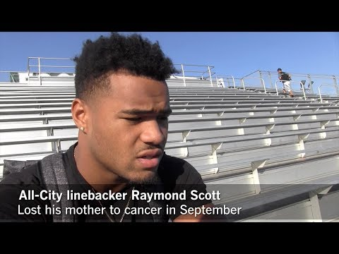Two Narbonne football players deal with passing of parents