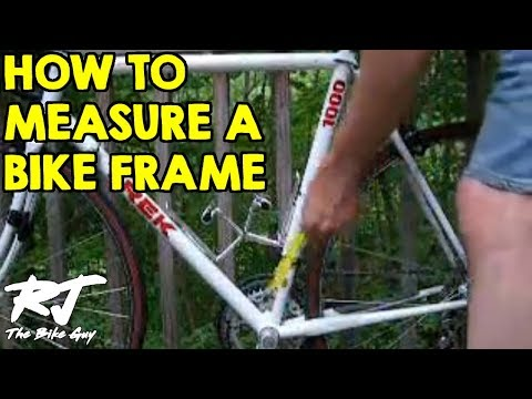 how to measure top tube