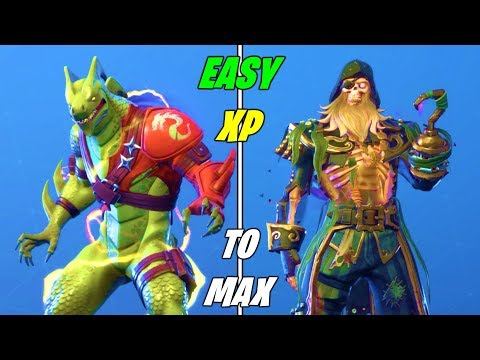 the fastest method to gain xp for max skins in fortnite season 8 unlock max - fortnite best way to get xp season 8