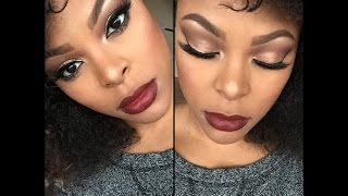 Flawless Fall Makeup Tutorial 2015 | Too Faced Chocolate Bar Palette