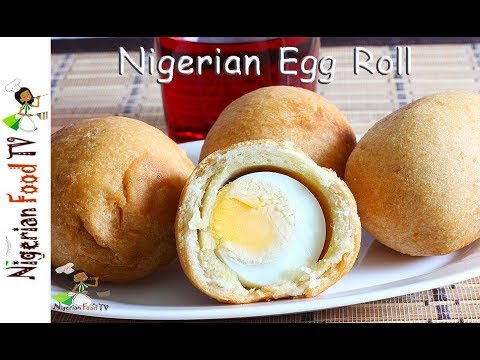 Nigerian Egg Rolls | Nigerian Snacks recipes
