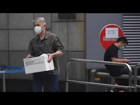 Έλεγχχος στο κινεζικό προξενείο που έκλεισε με εντολή Στέιτ Ντιπάρτμεντ…