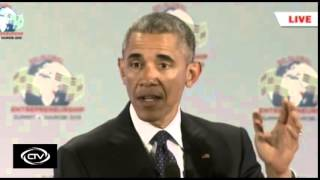 US President Barack Obama Full speech at GES 2015