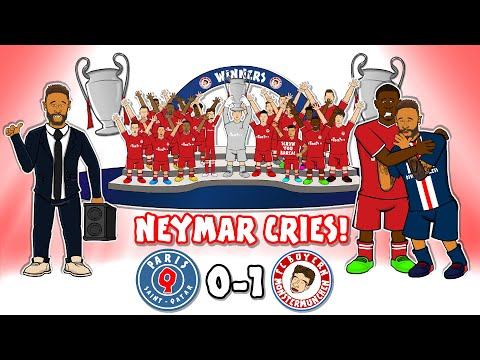 🏆Champions League Final 2020🏆PSG vs Bayern Munich! Neymar Cries!😭 Song Goals Highlights Coman 0-1