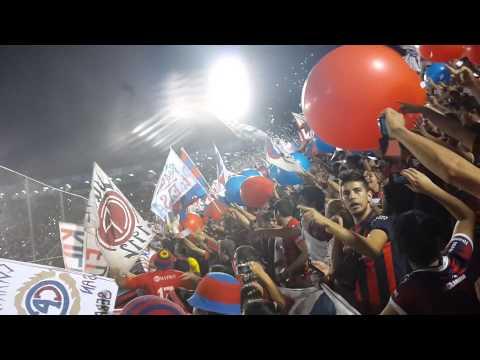 Recibimiento. Sp San Lorenzo 0-3 Cerro Porteño. (CERRO EN HD) Apertura 2015 fecha 21 - La Plaza y Comando - Cerro Porteño