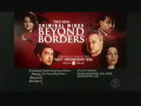 Criminal Minds: Beyond Borders 2.06 - 2.07 (Preview)