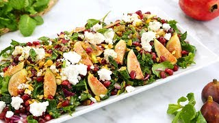 3 STEPPED UP Salad Recipes | Healthy Meal Plans by The Domestic Geek