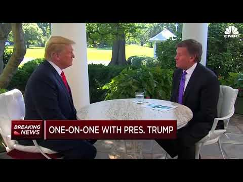 POTUS Trump's Interview With Joe Kernen(CNBC)