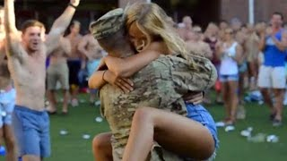 Soldiers Coming Home Surprise Compilation 2016 - 44