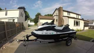 9. 2012 SeaDoo GTX S 155 first ride: Morning & Evening on the Niagara River 4 tec Sea-Doos