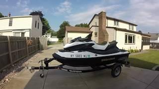 8. 2012 SeaDoo GTX S 155 first ride: Morning & Evening on the Niagara River 4 tec Sea-Doos