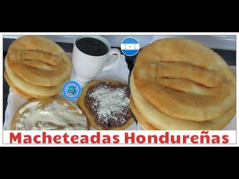 macheteadas Hondureñas , las recetas de anita