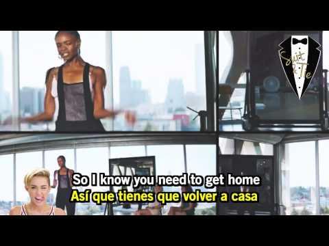 ", title : 'Pharrell Williams ft Miley Cyrus - ""Come Get It Bae"" (Lyrics Ingles - Subtitulado Español)'"