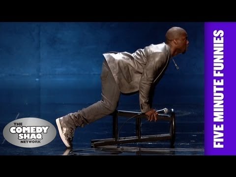 Kevin Hart⎢SEX can be uncomfortable at times⎢Shaq's Five Minute Funnies⎢Comedy Shaq