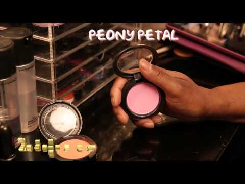 MAC Tres Chic - This collection launched 4/5/12. Please check Vid Highlights below. · · · · · · VIDEO HIGHLIGHTS INCLUDE · · · · · · · Peony Petal blush - 1:40 Modern Mandar...