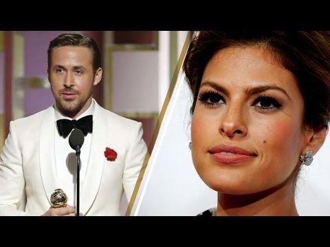 Ryan Gosling Dedicates 2017 Golden Globes Award to Wife Eva Mendes in Emotional Acceptance Speech (видео)