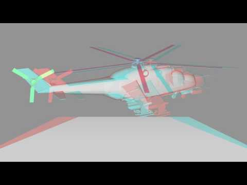 anaglyph-3d-helikopter-object