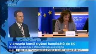 V Bruselu končí slyšení kandidátů do EK