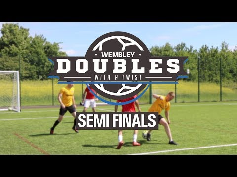 Sunday League Football - WEMBLEY DOUBLES WITH A TWIST - Semi Finals