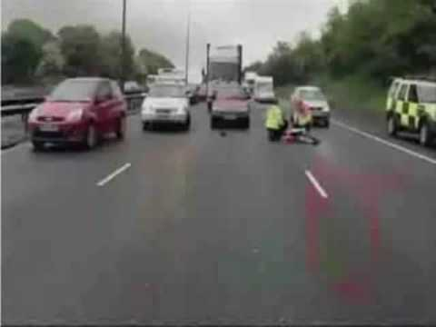 Unbelievable Motorway Accident