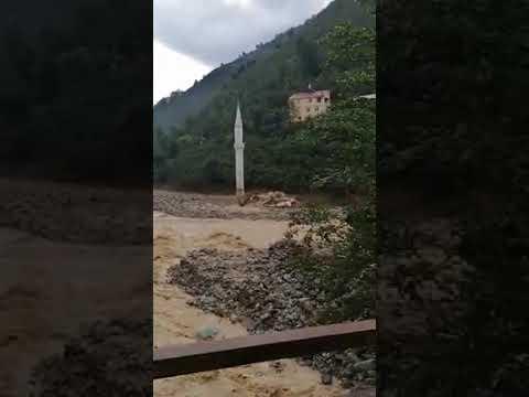 Soğukpınarlı Muttalip Dikmen'in Giresun sel felaketi ile ilgili paylaşımı