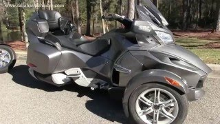 7. Gently Used Can Am Spyder RT for sale in Tallahassee Florida