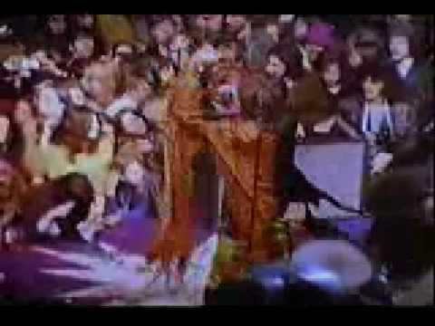 1969 - Rolling Stones at Altamont in 1969 with Hells Angels doing Security playing Sympathy For The Devil! Classic piece of Rock and Roll History. All credit for th...