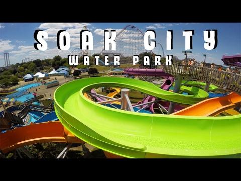 Soak City Water Park at Cedar Point | GoPro (видео)