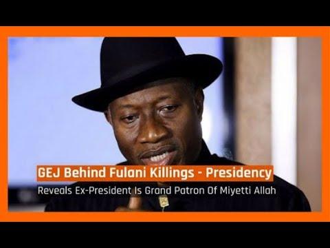 Nigeria News Today: Jonathan Behind Fulani Herdsmen Killing Nigerians - Presidency (07/01/2017)