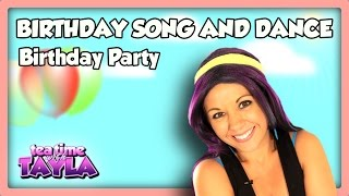 Learn a new dance to celebrate a birthday, Birthday Party, Tea Time with Tayla, Episode 3