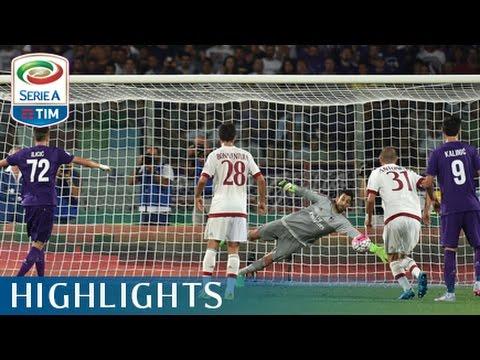 serie a tim - 1ª giornata: fiorentina - milan 2-0